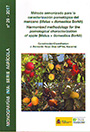 Método armonizado para la caracterización pomológica del manzano (Malus × domestica Borkh) / Harmonized methodology for the pomological characterization of apple (malus x domestica Borkh)