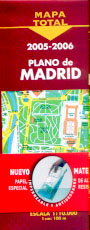 Mapa Total 2005-2006. Plano de Madrid